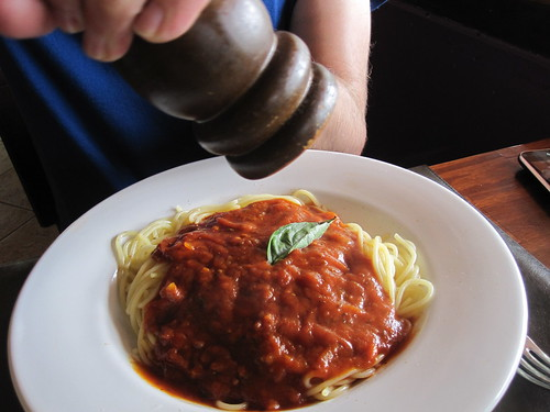 Spaghetti | by veganbackpacker