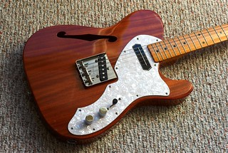 1986 MIJ Thinline Telecaster, January, 2010 | by Maggie Osterberg