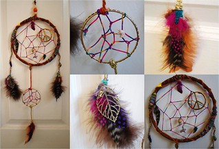 large dream catcher | by artsn'crafts