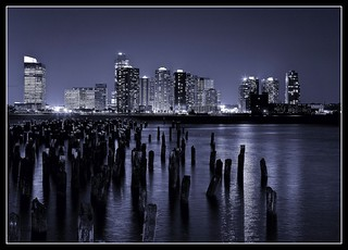 Hudson river by night | by vale_m