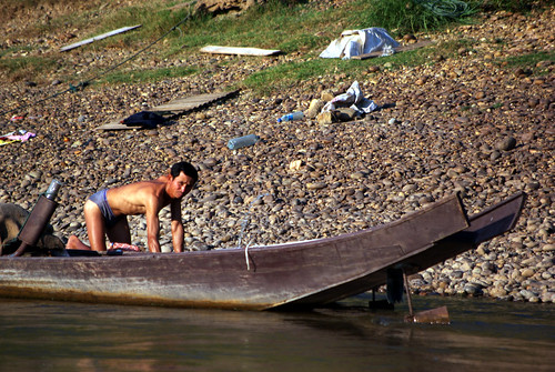 River Life, Laos | by The Hungry Cyclist