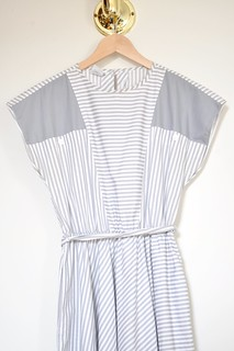 vintage striped dress | by ornithes