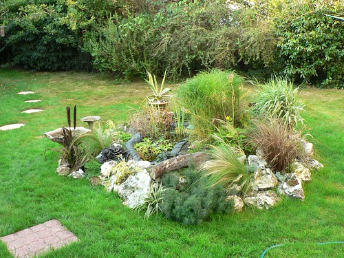 Thoughts of summer and how to build a cheap pond bog gard for Cheap garden ponds