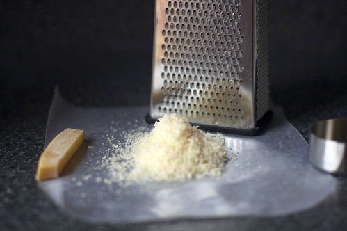 finely grated parmesan | by smitten kitchen