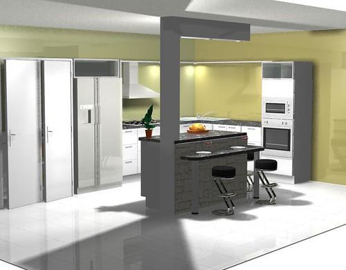 Dise o cocina 6 decosoluciones cocinas closet for Diseno de interiores 3d 7 0