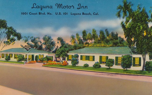 Laguna Motor Inn Laguna Beach California 1601 Coast