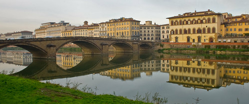 Reflections on the Arno | by dmetriks