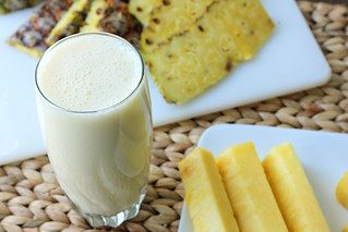 Pineapple Smoothie | by Emily Carlin