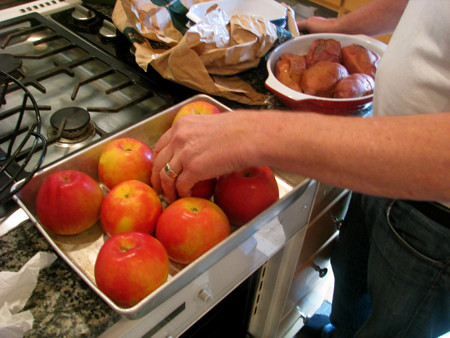 Stuffed Apples (with curried yams) | by Sue Frause