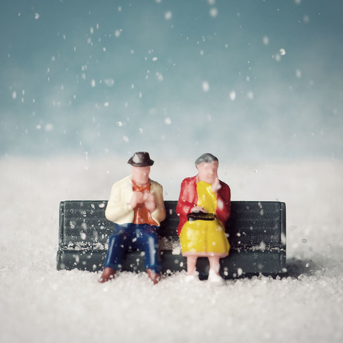 Couple in the snow | by Balakov