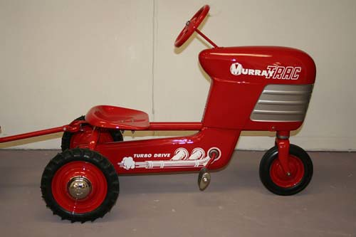 Murray Pedal Tractor Restoration : Restoration of a murray pedal tractor dump trac and other