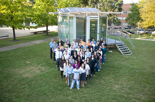 Solar Decathlon 2011 Tennessee Team Photo | by Dept of Energy Solar Decathlon