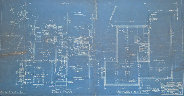 Blueprints for Willborough Home