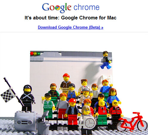 Google Chrome, It's About Time | by adria.richards