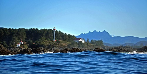 The Lennard Island Lighthouse near Tofino BC | by picaday