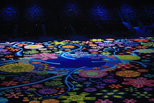 2010 Paralympic Opening ceremony floor mural | by Pocoken
