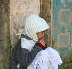 Portrait of a Moroccan Girl | by Alex E. Proimos
