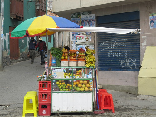 Juice Stand | by veganbackpacker