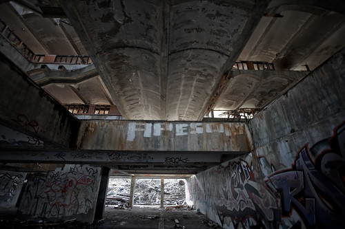 Looking Up: Cardross seminary | by scarpadog