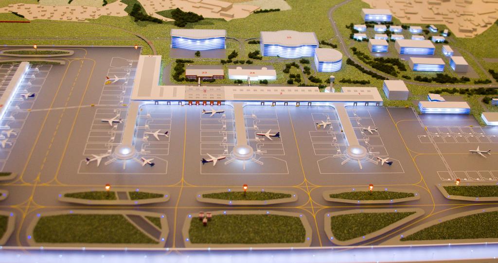 "Sheremetyevo airport future ""North side"""