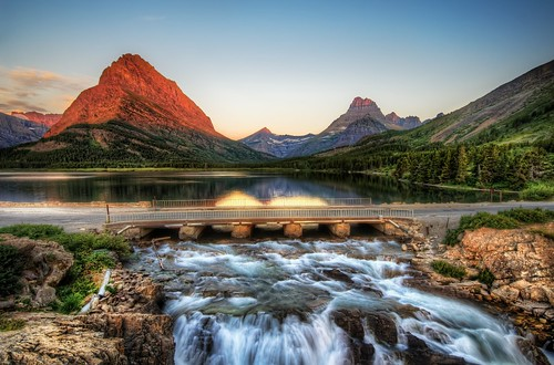 The Edge of Glacier National Park at Sunrise | by Stuck in Customs
