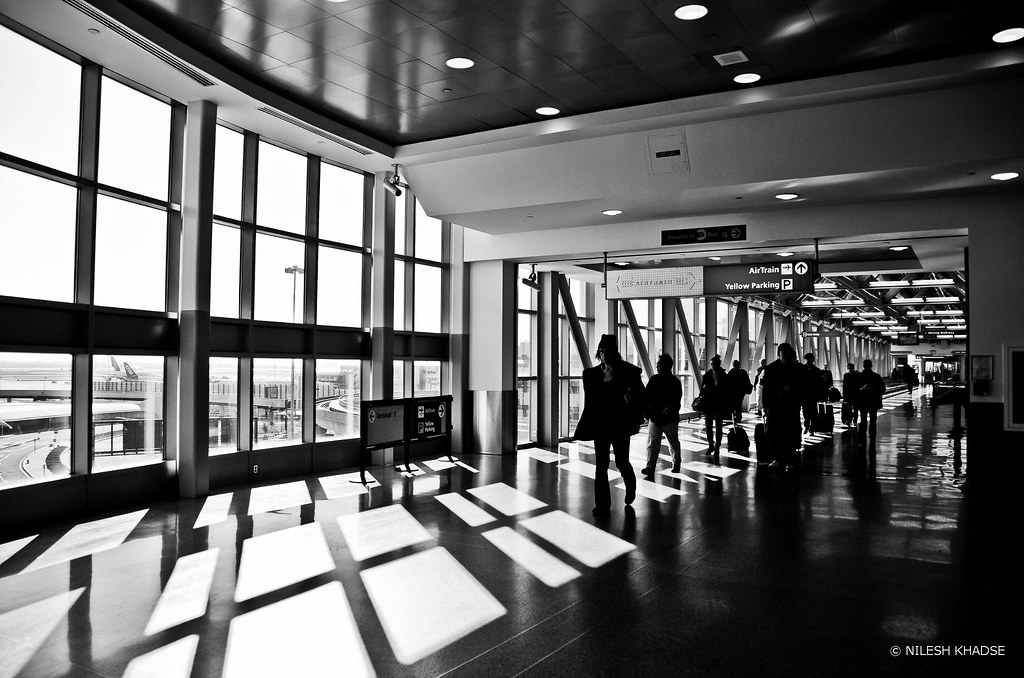 JFK Airport - Way to Airtrain , NY, NY