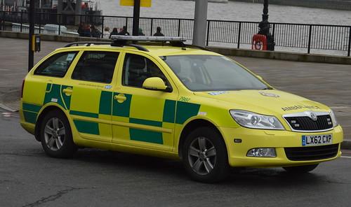 london ambulance service skoda octavia rapid response. Black Bedroom Furniture Sets. Home Design Ideas