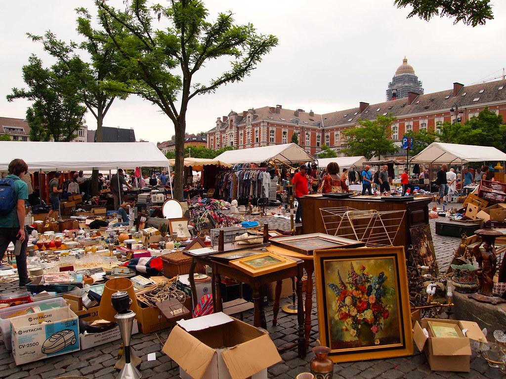 Flea Market in Brussels