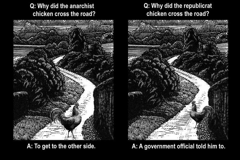 Republicrat Chickens Ain't Free-Range