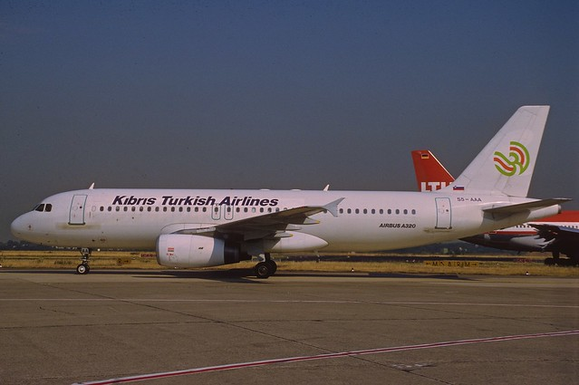 Kibris Turkish Airlines Airbus A320-231; S5-AAA, July 1995