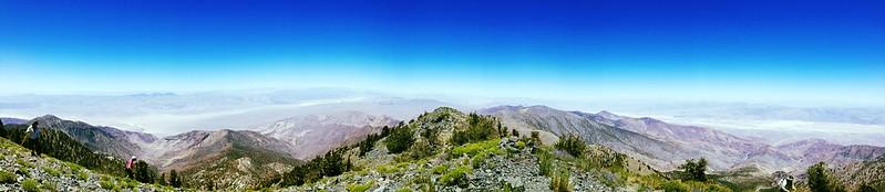 Panorama from Telescope Peak