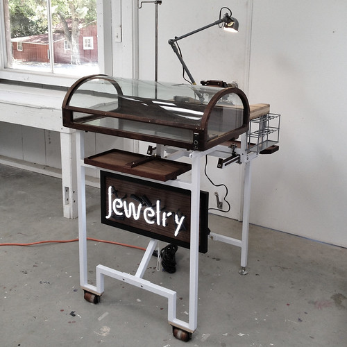 Portable Jewelers Bench Display Neon Sign And Display C Flickr