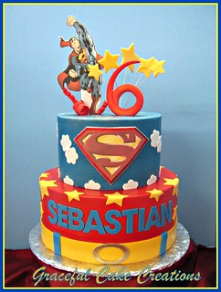 Superman Birthday Cake Add Ons At Dollar Store