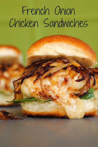 French Onion Chicken Sandwiches | Flickr - Photo Sharing!