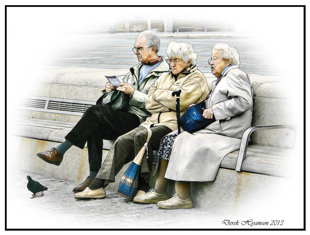 Pensiones: pobres y asistenciales
