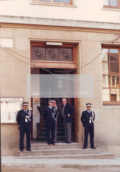 Visita del President Jordi Pujol 18/12/1987