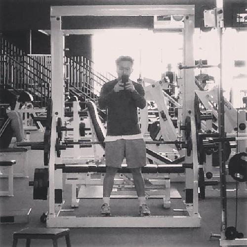 smith machine back