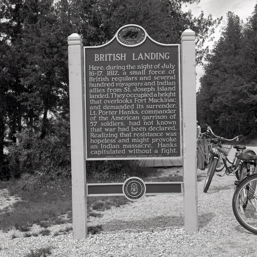Project:1812 - Capture of Mackinac Island
