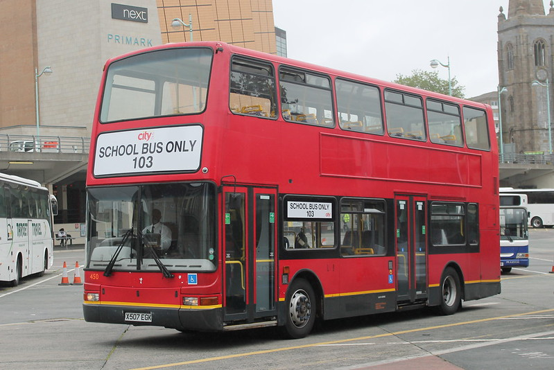 Plymouth Citybus 450