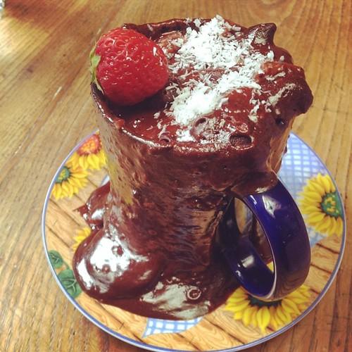 Mug Cake Chocolat Sans Beurre Sans Farine