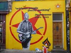 Joe Strummer street art