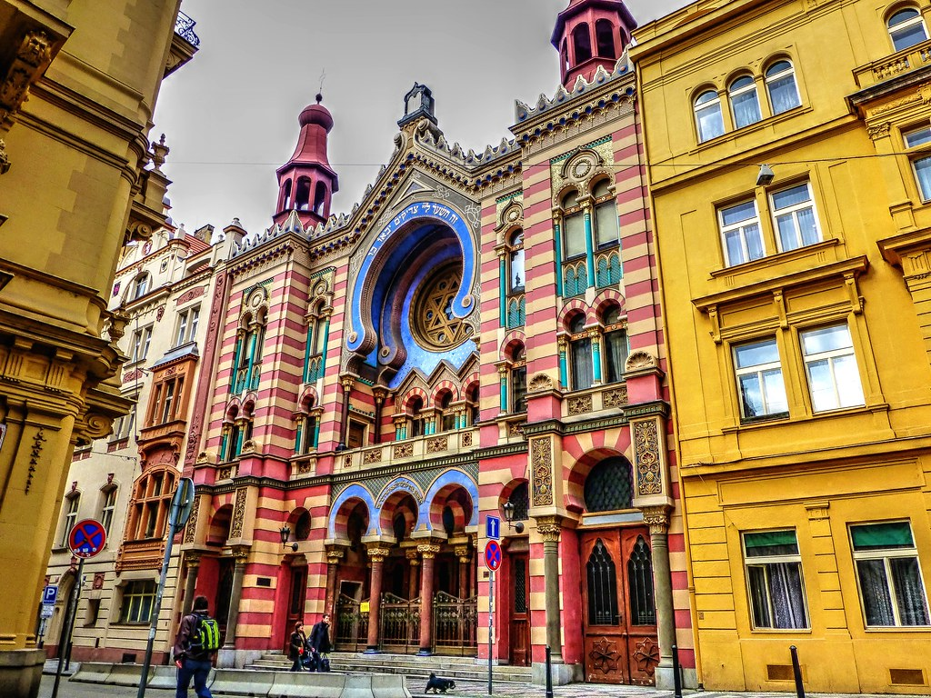 Jubilee Synagogue, Prague, The Czech Republic