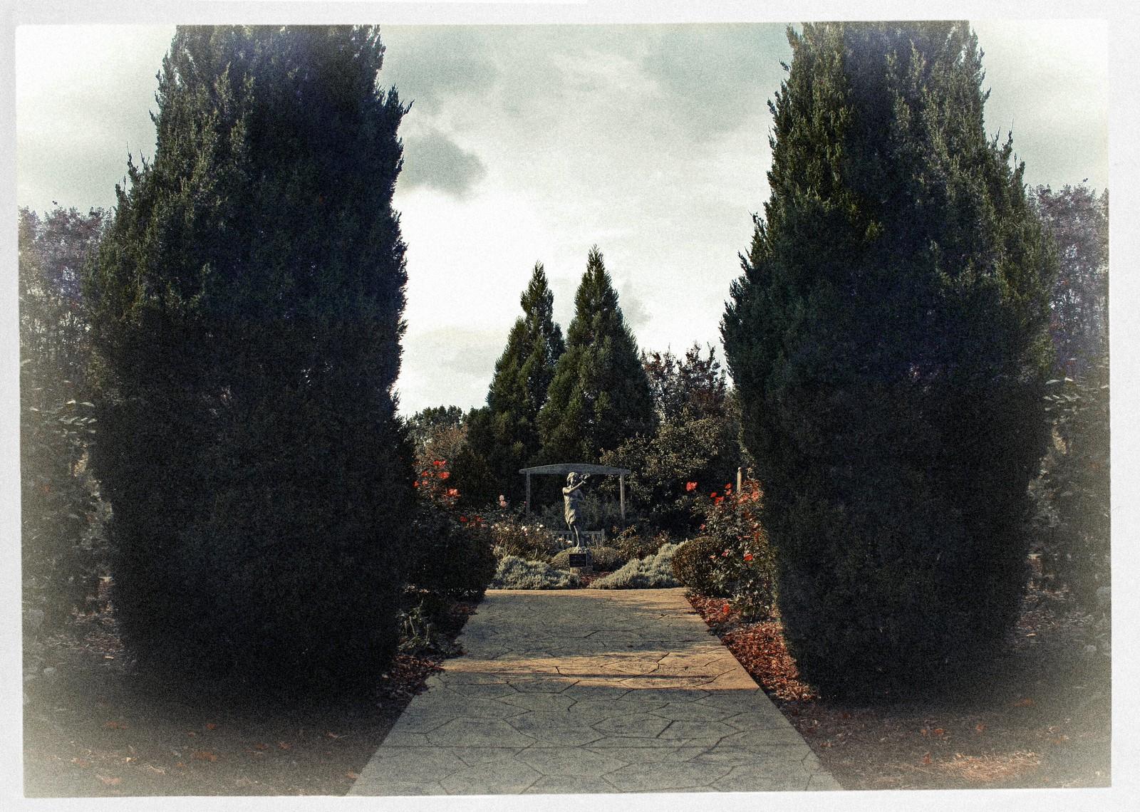 Entrance to the Rose Garden, Oct 2014