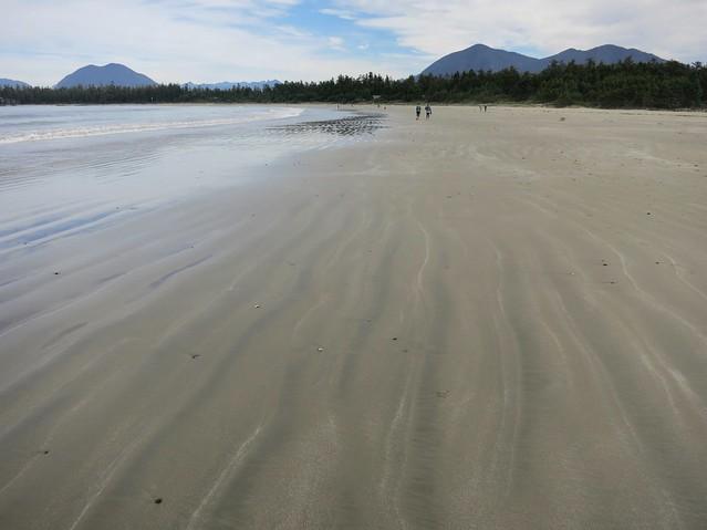 Rippled sand, Long Beach