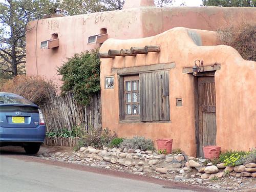 Santa Fe Pueblo Style House Pueblo Style Adobe Dwellings