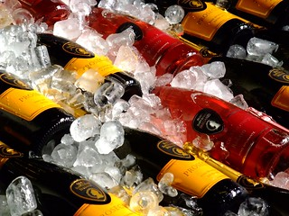 Champagne on ice | by James Cridland