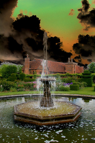 Hatfield House, Herts - solarised | by Whipper_snapper