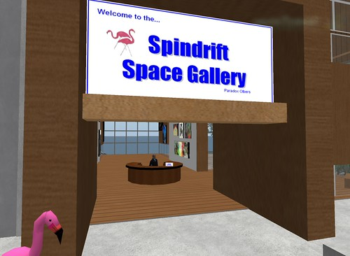 SpinSpace, the Spindrift Space Gallery | by Paradox Olbers