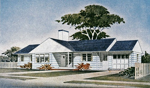 The Groveland 1950s Ranch Style Home Floor Plans