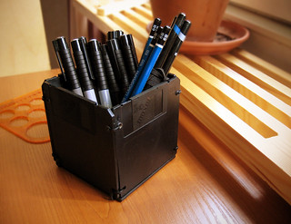 Sunday DIY - Floppy Disk Pen Holder - 5/5 | by rintakumpu